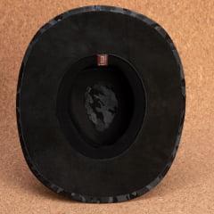 Chapéu Em Couro Aba Larga Curva Camuflado AL-808