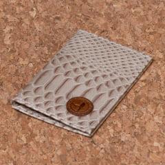 Carteira Porta Cartão Em Couro Gelo - CP-3048