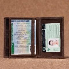 Porta Documentos Em Couro Tabaco Fossil - PD-3023