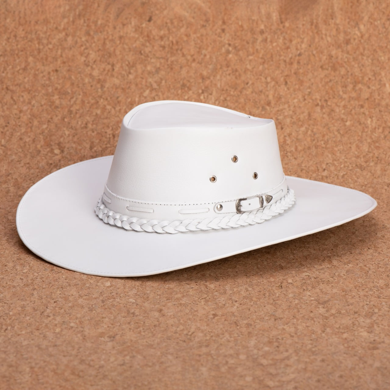 kit 3 chapéus aba curta, aba larga e rock