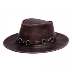 kit 3 chapéus rock, aba curta e australiano