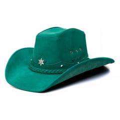 Chapéu Americano Star Vermelho, Verde, Azul e Rosa