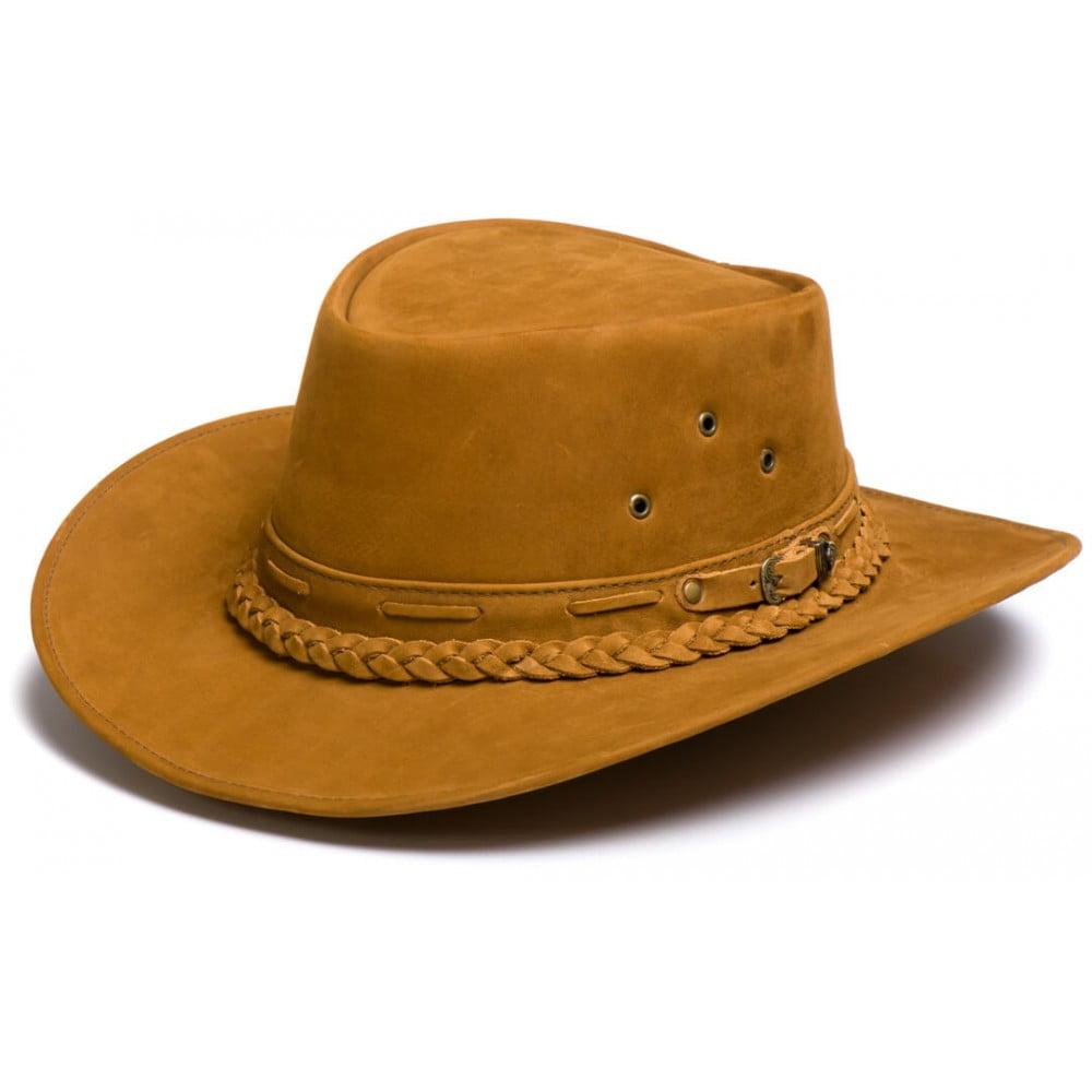 Chapéu Australiano Marrom, Caramelo, Tabaco e Areia